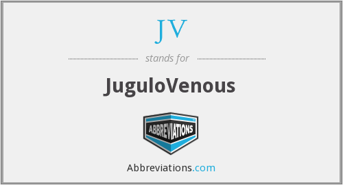 JV - JuguloVenous