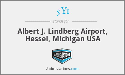 5Y1 - Albert J. Lindberg Airport, Hessel, Michigan USA