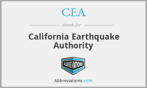 CEA - California Earthquake Authority