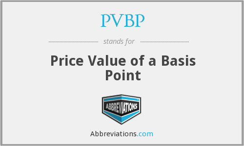 What does PVBP stand for?