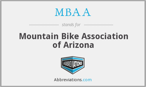 MBAA - Mountain Bike Association of Arizona