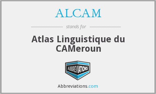 ALCAM - Atlas Linguistique du CAMeroun