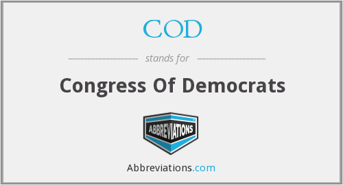 COD - Congress Of Democrats