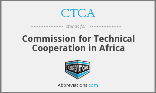 CTCA - Commission for Technical Cooperation in Africa