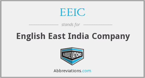 EEIC - English East India Company