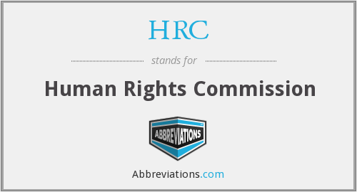 HRC - Human Rights Commission
