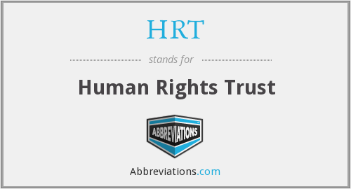 What does HRT stand for?