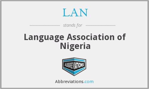 LAN - Language Association of Nigeria