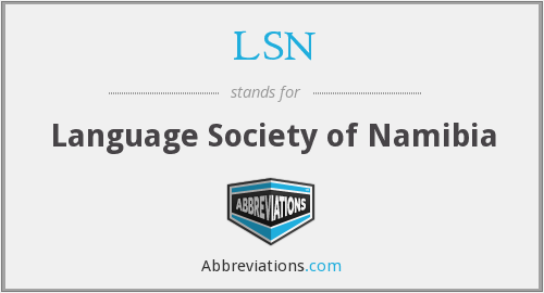 LSN - Language Society of Namibia