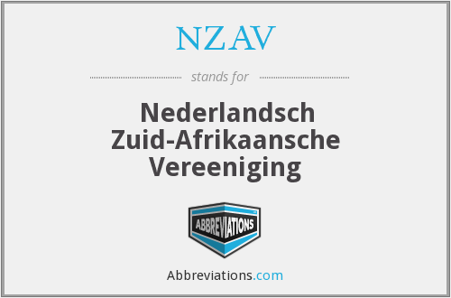 What does NZAV stand for?