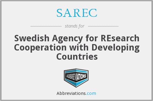 What does SAREC stand for?