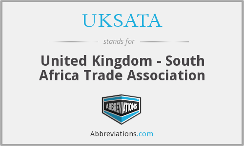 UKSATA - United Kingdom - South Africa Trade Association
