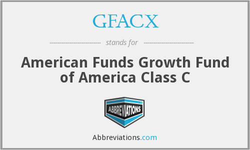 GFACX - American Funds Growth Fund of America Class C