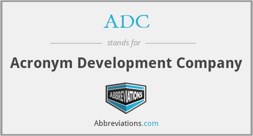 ADC - Acronym Development Company
