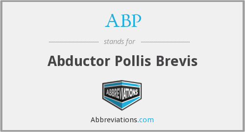 What does abductor stand for?