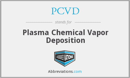 What does PCVD stand for?