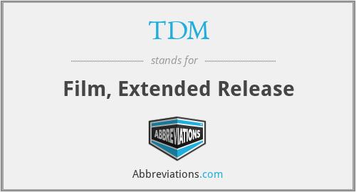 TDM - Film, Extended Release