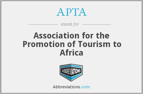 APTA - Association for the Promotion of Tourism to Africa