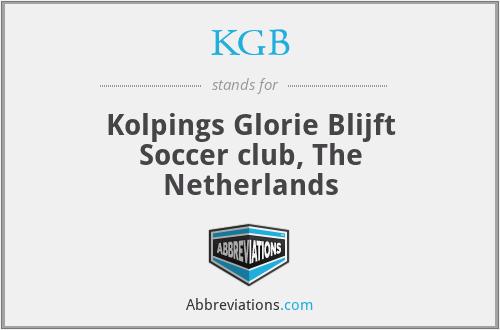 KGB - Kolpings Glorie Blijft Soccer club, The Netherlands