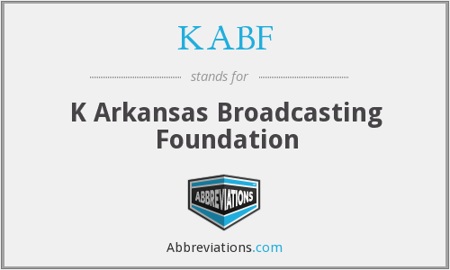 KABF - K Arkansas Broadcasting Foundation