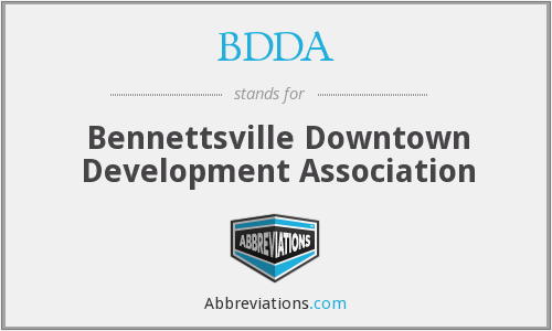 BDDA - Bennettsville Downtown Development Association