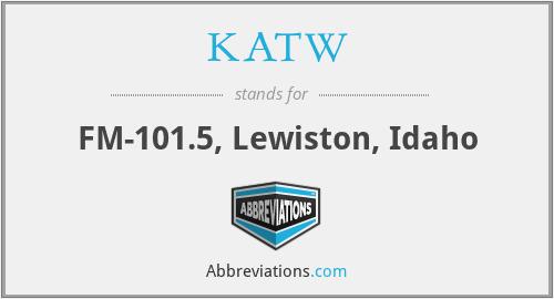 KATW - FM-101.5, Lewiston, Idaho