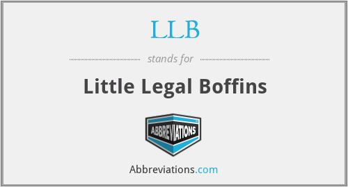 LLB - Little Legal Boffins