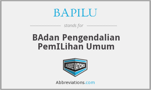 What does BAPILU stand for?
