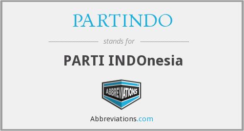 PARTINDO - PARTI INDOnesia