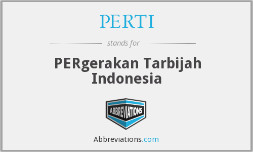 What does PERTI stand for?