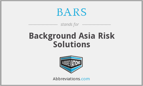 BARS - Background Asia Risk Solutions