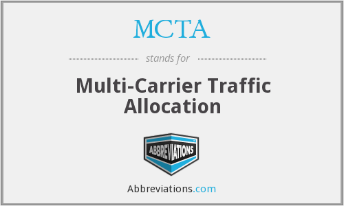 What does MCTA stand for?