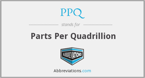 What does Quadrillion stand for?