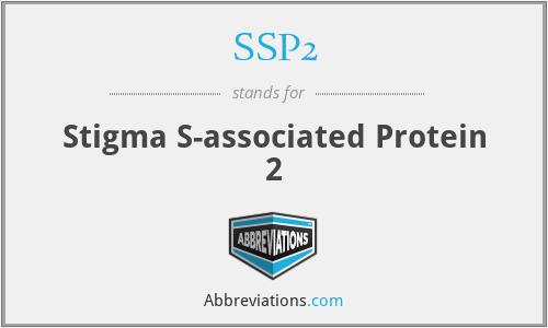 SSP2 - Stigma S-associated Protein 2