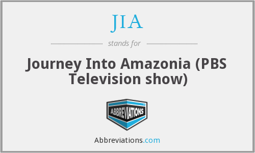 JIA - Journey Into Amazonia (PBS Television show)