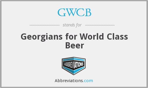 GWCB - Georgians for World Class Beer