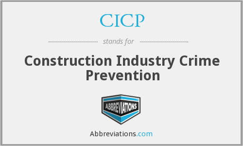 CICP - Construction Industry Crime Prevention