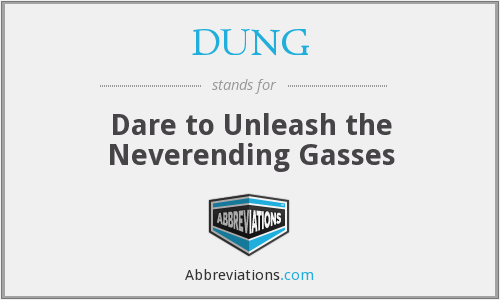 DUNG - Dare to Unleash the Neverending Gasses