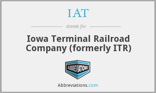 IAT - Iowa Terminal Railroad Company (formerly ITR)