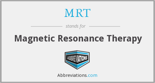MRT - Magnetic Resonance Therapy