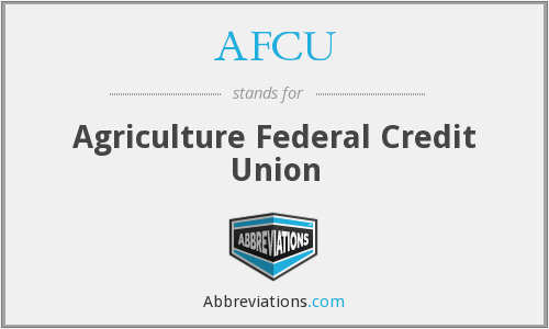AFCU - Agriculture Federal Credit Union