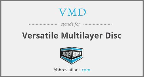 VMD - Versatile Multilayer Disc