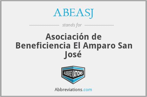 ABEASJ - Asociación de Beneficiencia El Amparo San José