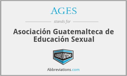 AGES - Asociación Guatemalteca de Educación Sexual