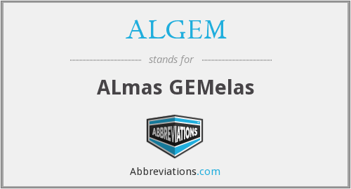 What does ALGEM stand for?