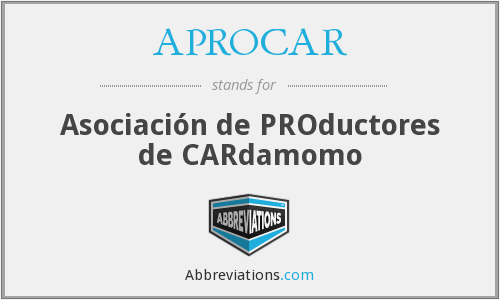 What does APROCAR stand for?