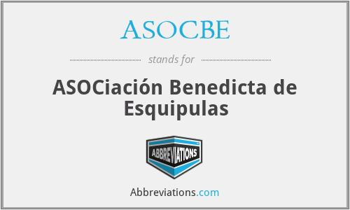 ASOCBE - ASOCiación Benedicta de Esquipulas