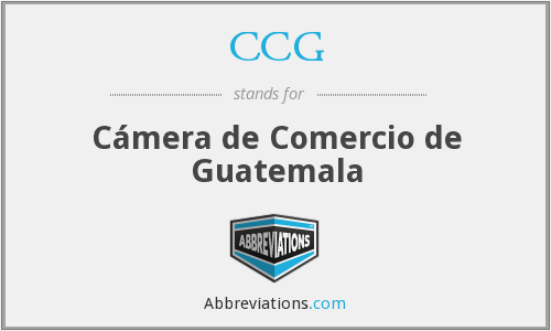 CCG - Cámera de Comercio de Guatemala