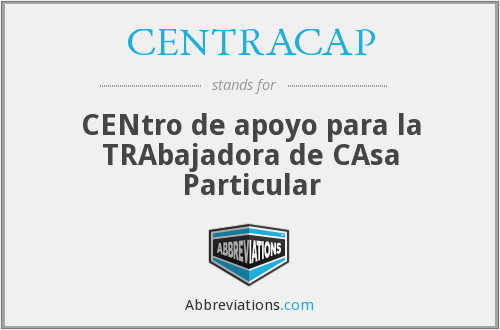 What does CENTRACAP stand for?