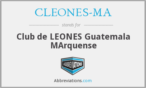What does CLEONES-MA stand for?